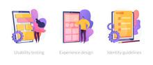 App Prototyping Icons Set. Use...