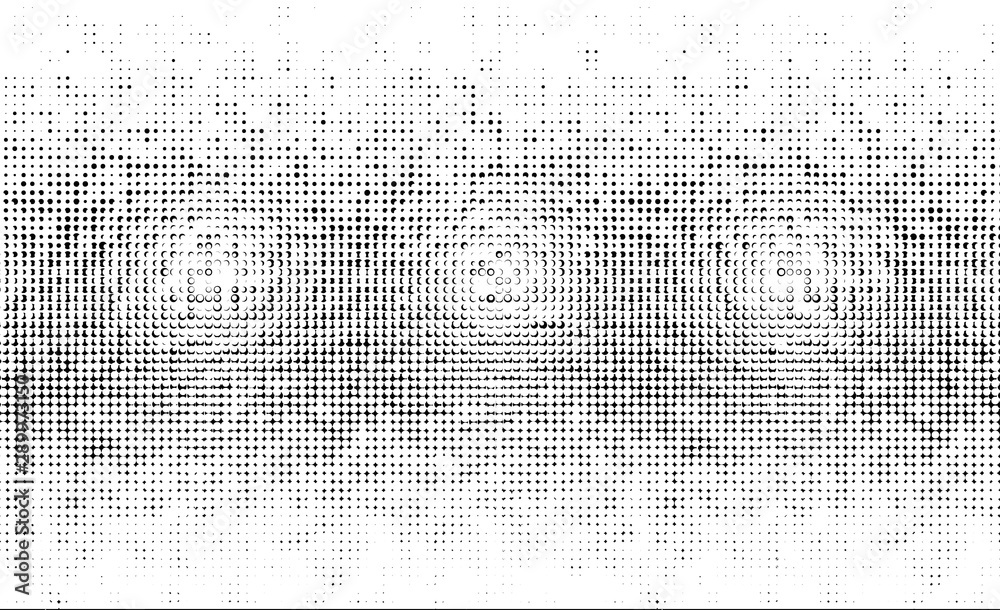 Fototapety, obrazy: Bright sunbeams background with White Black dots. Abstract background with halftone dots design.