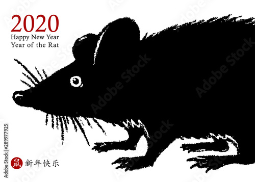 Photo  Chinese New Year 2020 of the Rat