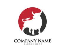 Bull Taurus Logo Bull Head Mas...