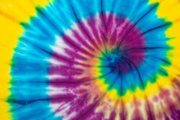 rainbow spiral tie dye background