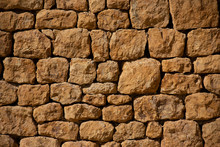 A Natural Dry Stone Wall Made From Stone From Hadspen Quarry In Somerset