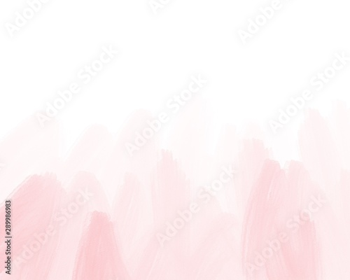 Water color, pink, white background, used as a background in the wedding and other tasks Wallpaper Mural