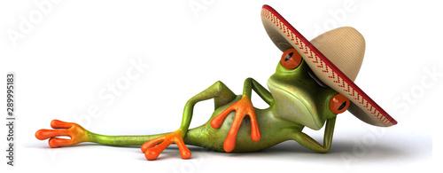 Photo Fun frog - 3D Illustration