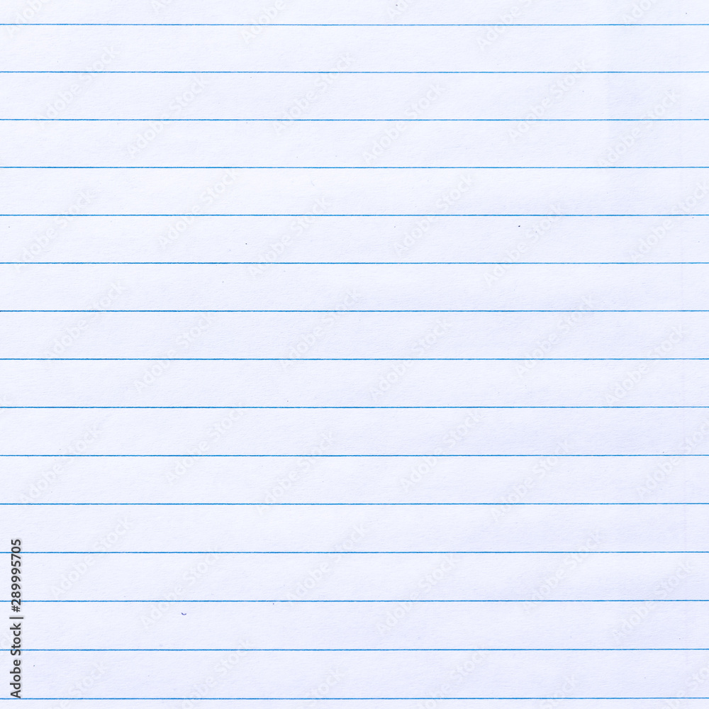 Fototapeta Notebook Lined Paper texture Background