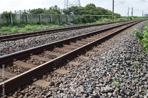 Keuken foto achterwand Spoorlijn 常磐線の鉄道線路