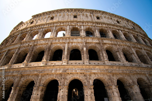Roman coloseum Canvas Print