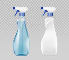 Blank Plastic Spray Detergent ...