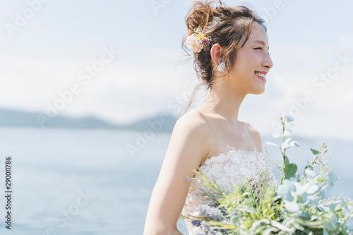 Obraz na plátně 花嫁