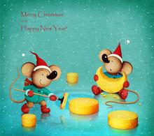 Fantasy Holiday Greeting Card ...