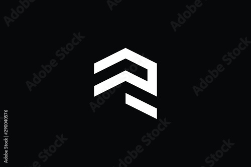 Photo  Logo design of R in vector for construction, home, real estate, building, property