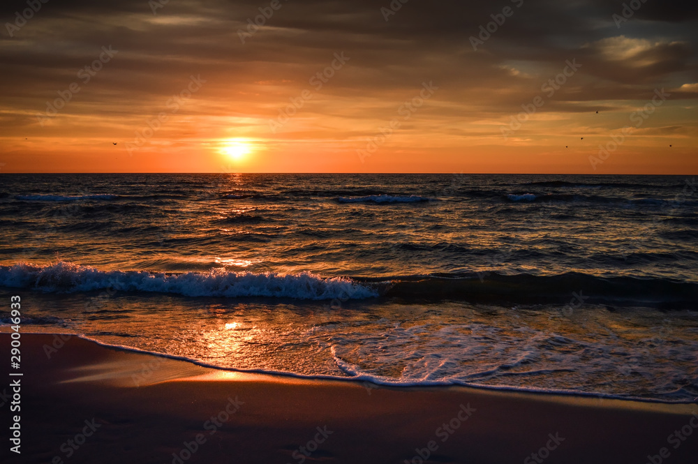 Sunset at Baltic Sea/Łeba/Poland