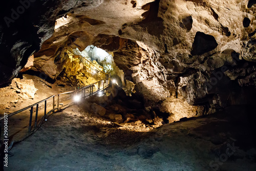 Fototapeta Natural Marble Arch cave underground, Fermanagh, Northern Ireland