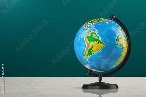 Globe. Fototapet