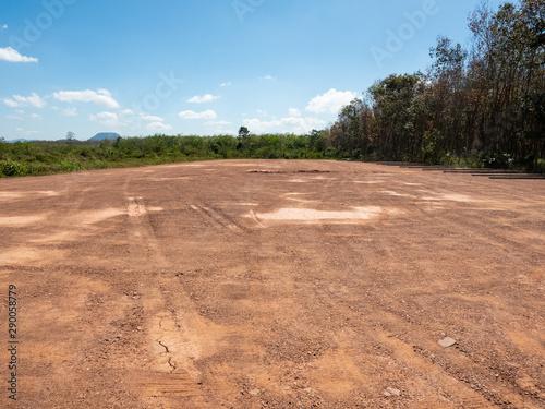 Foto auf AluDibond Lachs land reclamation for property development