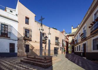 Fototapeta na wymiar Santa Cruz District in Seville, Andalusia, Spain