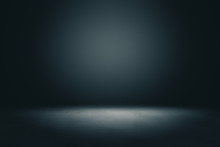 Abstract Blank Dark Wall With ...