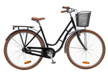 Urban City Bike Woman Bicycle ...