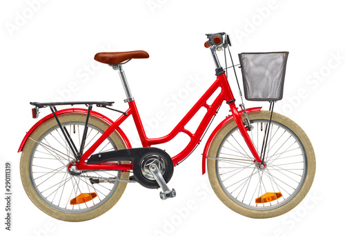 Tuinposter Fiets Kids Urban Bicycle