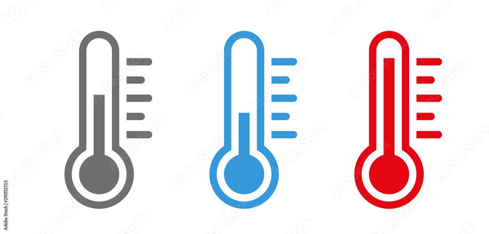 Fototapeta Temperature Symbol Set