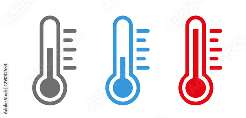 Fotografia Temperature Symbol Set