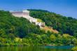 Walhalla bei Donaustauf über der Donau, Bayern