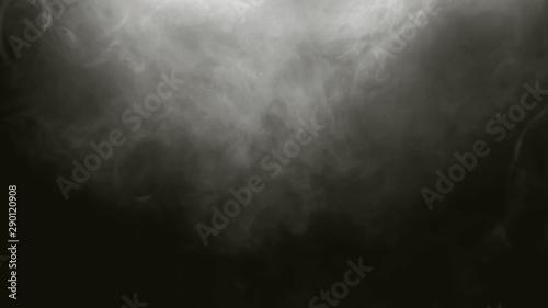 Photo  white Fog smoke air overlays