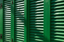 The Green Colorful Shutter Bac...