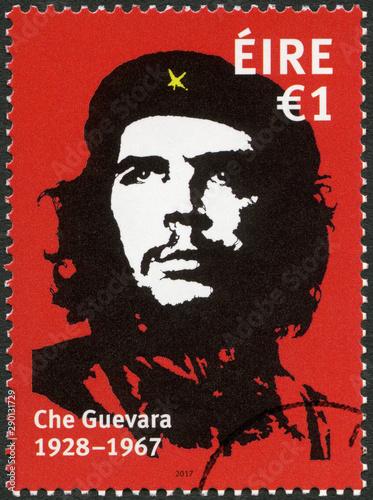 IRELAND - 2017: shows commander Ernesto Guevara de la Serna Che Guevara (1928-19 Canvas Print