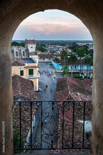 Panorama of Trinidad, Cuba Canvas Print