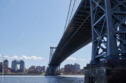 Fototapety, obrazy: Manhattan bridge from below