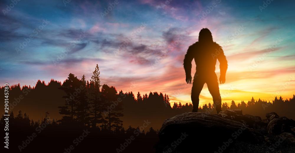 Fototapety, obrazy: Bigfoot