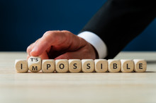 Changing Word Impossible Into Its Possible Sign