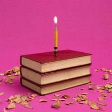 Conceptual Birthday Cake With ...