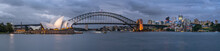 Sydney Opera House And Harbour...