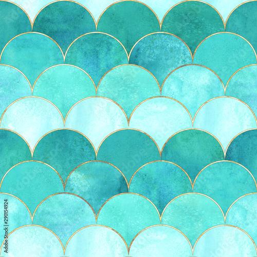 mermaid-fish-scale-wave-japanese-seamless-pattern