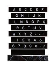 Embossed Alphabet Letter Tape