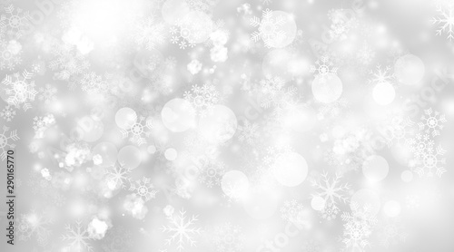 Fotografie, Obraz  white and gray blur abstract background
