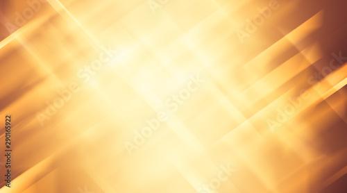 Obraz na plátně  soft yellow motion gradient background