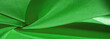 Leinwanddruck Bild - Silk fabric, forest green. The photo is intended for, interior, imitation, fashion designer, marketing, architecture, sketch, layout, entourage