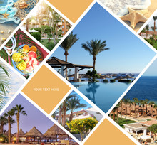Collage Of Touristic Photos