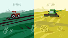 Vector Illustration Of Agricul...