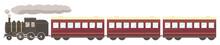 蒸気機関車と客車