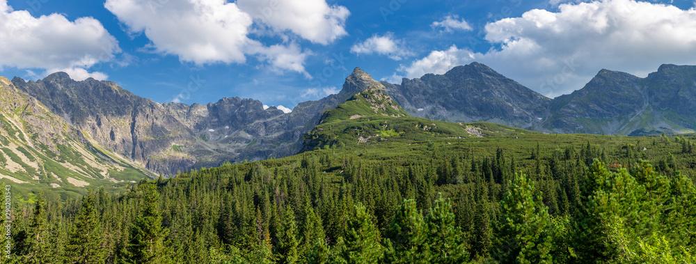 Fototapety, obrazy: View of the Tatras mountains. Poland.