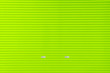 Leinwanddruck Bild - Green Steel Rolling Shutter texture for background.