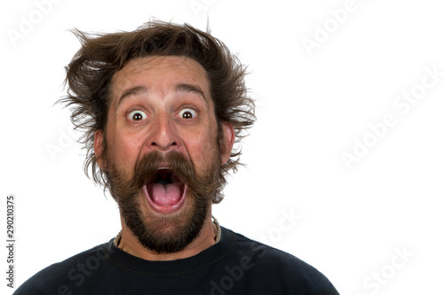 Goofy young man фототапет