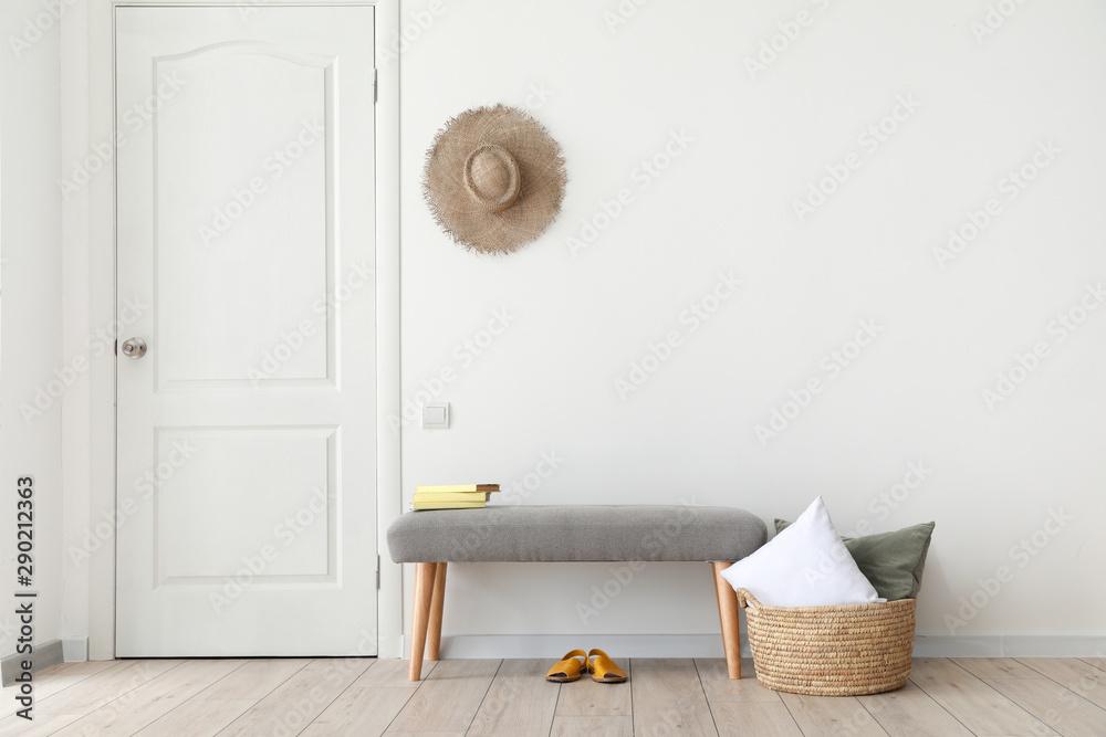 Fototapety, obrazy: Interior of modern light room