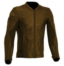 Leather Jacket Isolated On White