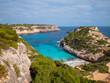 Cala des moro, Ibiza, Spanien, im Sommer