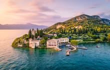 Punta San Vigilio, Verona Province, Garda Lake, Veneto, Italy